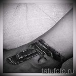 tattoo on her ankle for girls - great photo of the finished tattoo 2