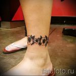 tattoo on her ankle patterns 1
