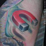 Тату магнит - фото пример готовой татуировки от 24072016 2
