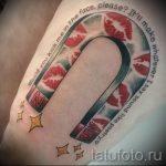 Тату магнит - фото пример готовой татуировки от 24072016 9