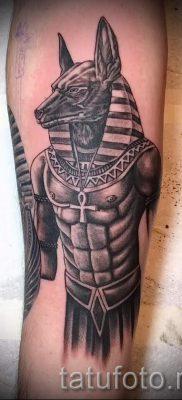 анубис тату на предплечье – фото татуировки для статьи про значение 3