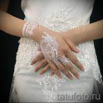 глиттер тату для невест - фото пример от 24072016 2