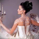 глиттер тату для невест - фото пример от 24072016 3