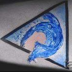 классный тату треугольник - фото пример классной татуировки от 14072016 1