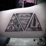классный тату треугольник - фото пример классной татуировки от 14072016 10