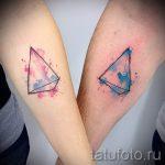 классный тату треугольник - фото пример классной татуировки от 14072016 15