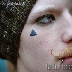 классный тату треугольник - фото пример классной татуировки от 14072016 19