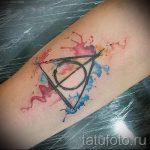 классный тату треугольник - фото пример классной татуировки от 14072016 9
