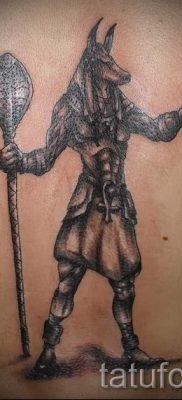 крест анубиса тату – фото татуировки для статьи про значение 2