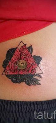 рисунок мак для тату – фото для статьи про значение татуировки 3