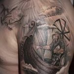 солнце славян тату - фото классной готовой татуировки от 14072016 1