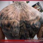 солнце славян тату - фото классной готовой татуировки от 14072016 4