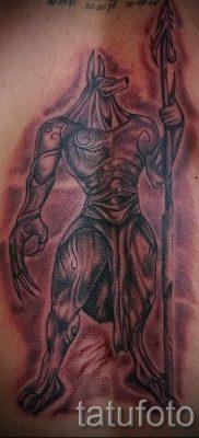 тату бога анубиса – фото татуировки для статьи про значение 2
