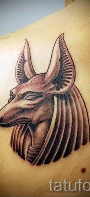 тату бога анубиса – фото татуировки для статьи про значение 7