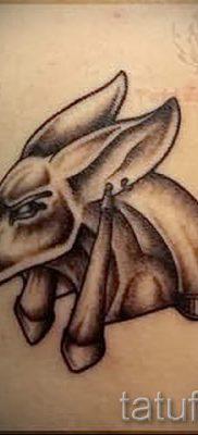 тату бога анубиса – фото татуировки для статьи про значение 9