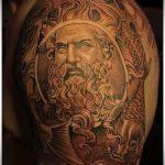 тату бог солнца - фото классной готовой татуировки от 14072016 1