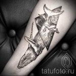тату кит геометрия - фото вариант готовой татуировки от 14072016 3
