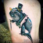 тату кит классная работа - фото вариант готовой татуировки от 14072016 17