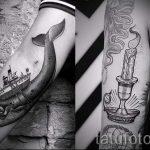 тату кит классная работа - фото вариант готовой татуировки от 14072016 24