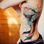 тату кит классная работа - фото вариант готовой татуировки от 14072016 3
