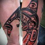 тату кит классная работа - фото вариант готовой татуировки от 14072016 4