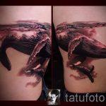 тату кит классная работа - фото вариант готовой татуировки от 14072016 45
