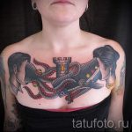 тату кит классная работа - фото вариант готовой татуировки от 14072016 54