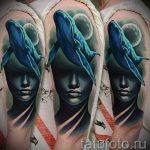 тату кит классная работа - фото вариант готовой татуировки от 14072016 58