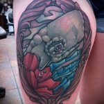 тату кит классная работа - фото вариант готовой татуировки от 14072016 65