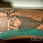 тату кит классная работа - фото вариант готовой татуировки от 14072016 69
