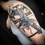 тату кит классная работа - фото вариант готовой татуировки от 14072016 73