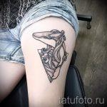 тату кит классная работа - фото вариант готовой татуировки от 14072016 86