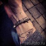 тату кит на запястье - фото вариант готовой татуировки от 14072016 1