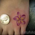 тату лилия маленькая - фото пример татуировки от 13072016 1