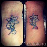тату лилия на руке - фото пример татуировки от 13072016 1