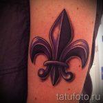 тату лилия святых - фото пример татуировки от 13072016 2