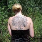 тату солнце славянское - фото классной готовой татуировки от 14072016 1