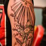 тату солнце с лучами - фото классной готовой татуировки от 14072016 1