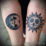 тату солнце у девушек - фото классной готовой татуировки от 14072016 12