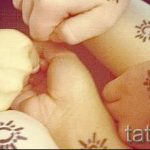 тату солнце у девушек - фото классной готовой татуировки от 14072016 7