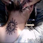 тату солнце у девушек - фото классной готовой татуировки от 14072016 9