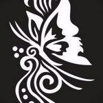 трафареты для глиттер тату - фото пример от 24072016 4