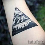 Bermuda Triangle Tattoo - Photo example of a cool tattoo on 14072016 1
