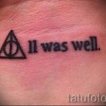 Dreieck mit Streifen Tattoo - Photo Beispiel eines kühlen Tätowierung auf 14072016 1