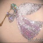 Glitter Tattoo Engel - Foto Beispiel für 24072016 1