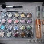 Glitter Tattoo Materialien - Foto Beispiel für 24072016 2