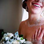 Glitter Tattoo für Bräute - Foto Beispiel für 24072016 1