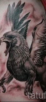 Greek griffin tattoo – photos for an article about the importance of 1