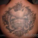 Mayan soleil tatouage - photo fraîche du tatouage fini 14072016 1