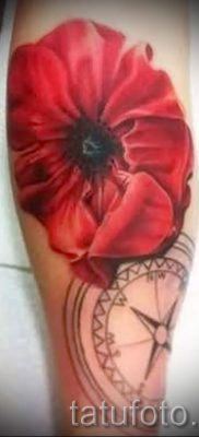 Picture Poppy Tattoo – photos for an article about the importance of tattoos 3